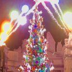 新世界一のクリスマス・ツリー今年もあった。