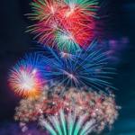 台風12号で花火大会が中止多数・・・。